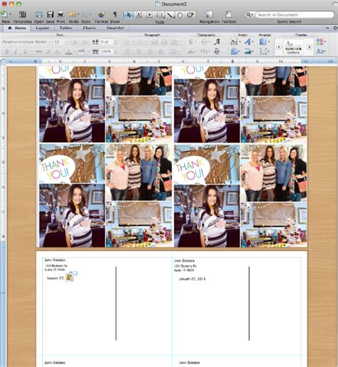 Printing Addresses On Postcards Microsoft Word