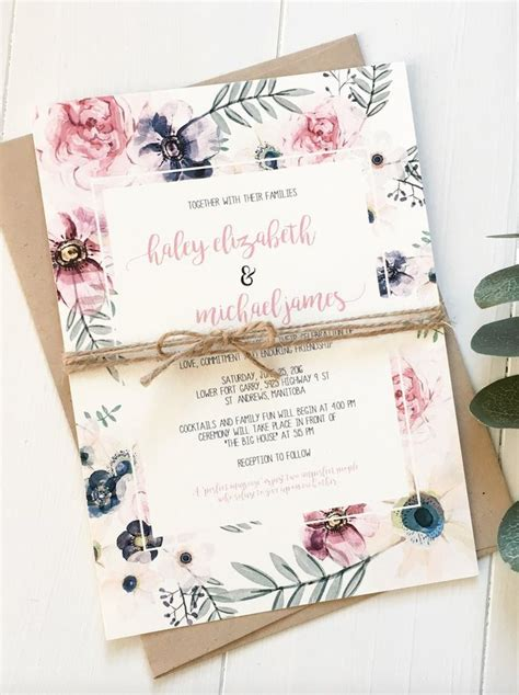 Garden Wedding Invitations by Best 25 Garden Wedding Invitations Ideas On