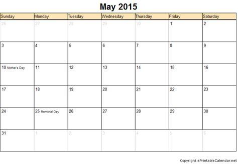May 2015 Calendar Printable May 2015 Free Printable Calendars Printable Calendar