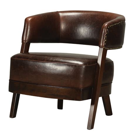 Open Back Chair Leather Amp Walnut Open Back Chair
