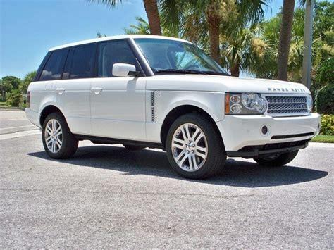 all white range rover pearl white range rover cars butter range