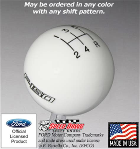 Ford F150 Shift Knob by Shift Boot Store Redlinegoods Leather Shift Boots