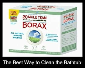 best way to scrub bathtub 1000 images about household cleaning on pinterest
