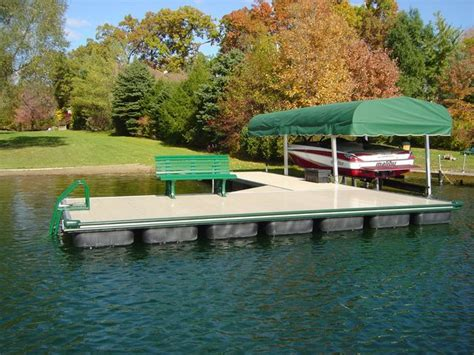 floating commercial boat docks boat docks accessories instant marine michigan ohio