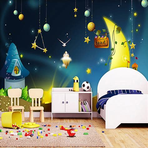cartoon bedroom wallpaper online get cheap boys rooms themes aliexpress com