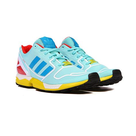 Adidas Zx Flux Water 2 adidas zx flux aqua blue yellow white s shoes af6304