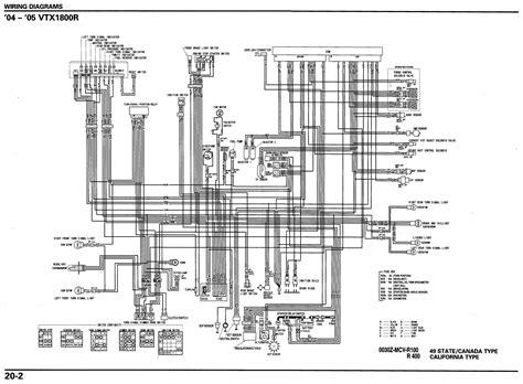 2005 honda vtx 1300 wiring diagrams wiring diagrams