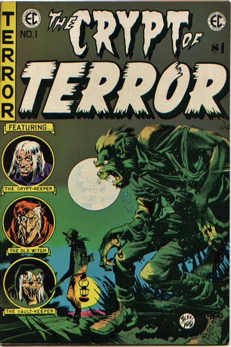 the book of the c classic reprint books crypt of terror 1 ec classic reprints 1973 vf nm 9 0