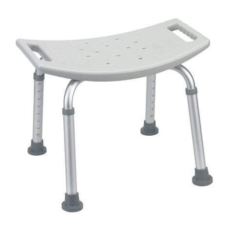 Grey bathroom safety shower tub bench chair bath benches and stools home medical supplies