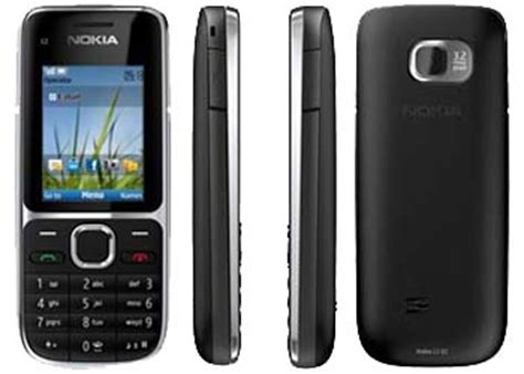 Casing Nokia C2 01 Transparan Non Tulang t 233 l 233 phonie telephone portable inf486 webencheres