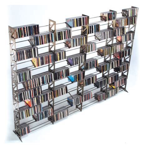 diy cd rack furniture cd storage shelves