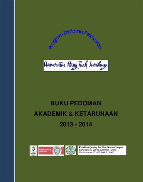 Buku Akademik buku pedoman akademik 2013 2014