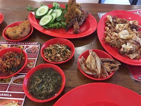 Lu Bandung resto sambal terpedas ulasan sambal khas karmila