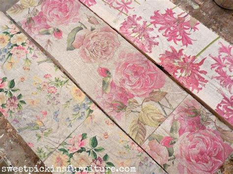How To Decoupage Wood - 17 ideas about decoupage on wood on transfer