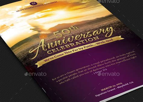 Church Anniversary Program Template Templates Resume Exles Rvarwy2ywx Church Program Covers Templates