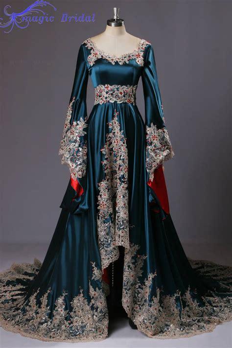 Kaftan One Souldel 1 arabic style evening gowns muslimlong sleeve evening