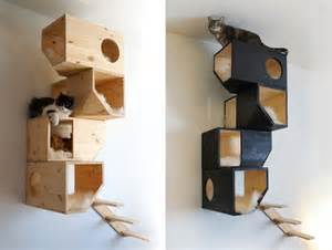 Modern Cat Tree by Pics Photos Cat Modern Furniture Cat Play House Cat Tree