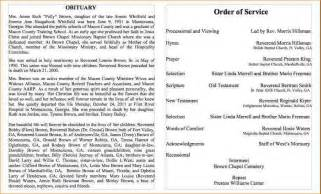 4 obituary samples academic resume template