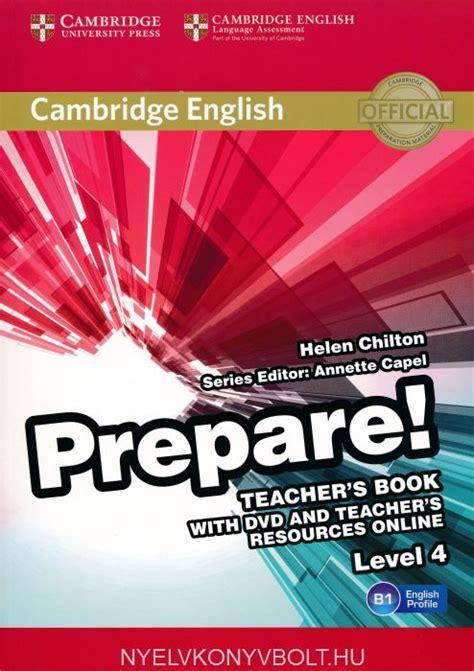cambridge english prepare teachers book level   dvd