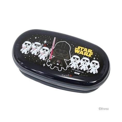 Wars Simple Lunch Box Black wars 2 tier bento lunch box set with chopsticks
