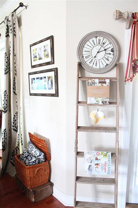 home decor ladder 27 vintage ladders for interior ideas home design and