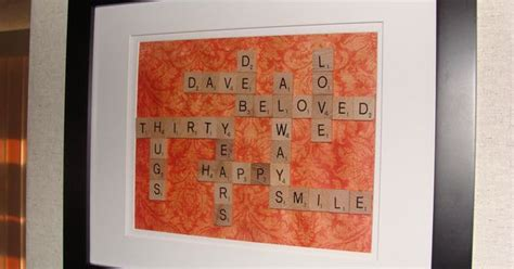 where can i buy scrabble tiles for crafts made this for my parent s 30th wedding anniversary