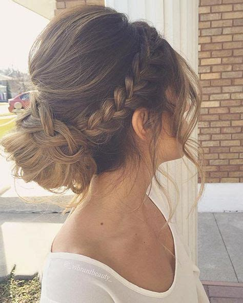 Low Updo Hairstyles by Low Bun Prom Pictures To Pin On Tattooskid