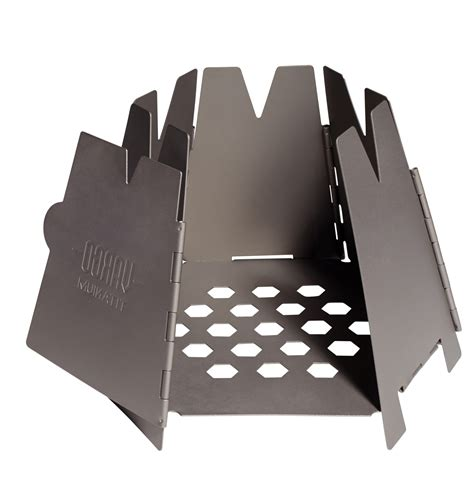 vargo outdoors titanium decagon stove hexagon wood stove never carry fuel again backpacking