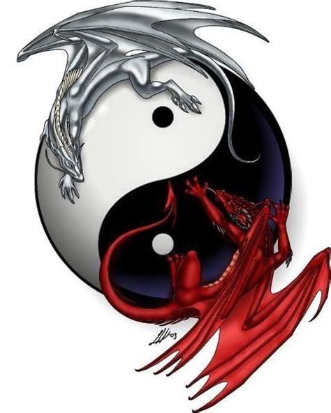 yin yang dragon tattoo dragon tattoos and designs page 17