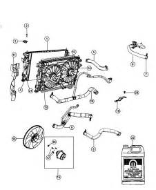 2013 dodge avenger radiator and related parts
