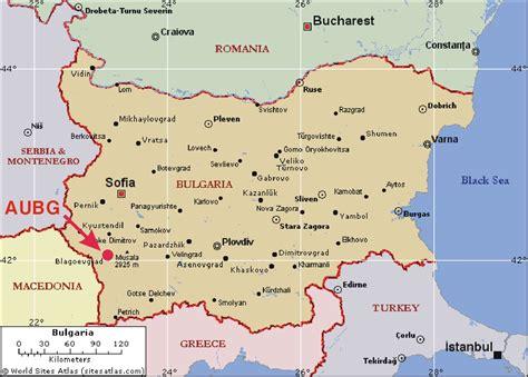 bulgaria tourist map bulgaria mappery