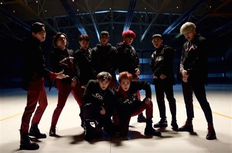 exo billboard watch exo captivates with new quot monster quot performance