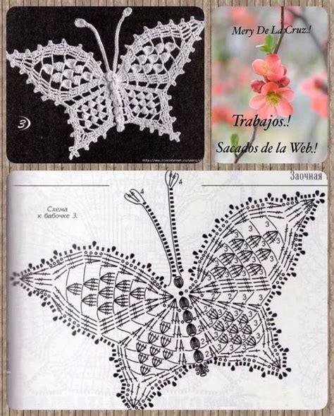 esquema de mariposas para polera crochet маленькие апликации записи в рубрике маленькие апликации
