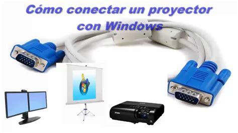 como instalar un lificador como conectarse a un proyector con windows conectar
