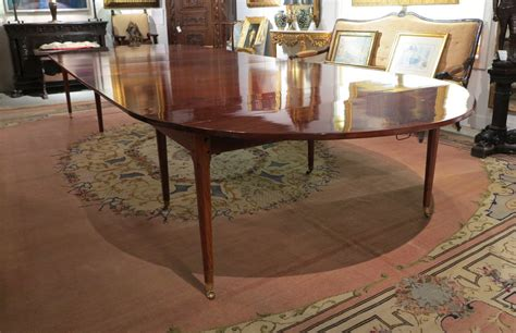 Louis Xvi Table by A Louis Xvi Mahogany Dining Table Le Trianon Antiques