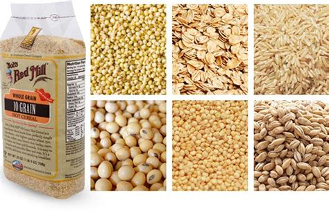 5 different whole grains 8 best choices in the cereal aisle