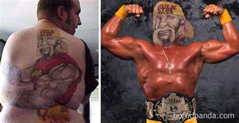 hulk hogan tattoo 14 hilariously terrible swaps that will make