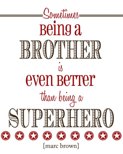 Printable Brother Quotes | brother quotes quotesgram