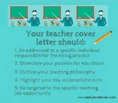 Cover Letter Tips For Teachers 1000 Ideas About Resumes On Letter