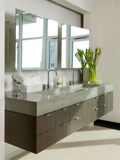 Floating Bathroom Cabinets by 17 Best Ideas About Floating Bathroom Vanities On