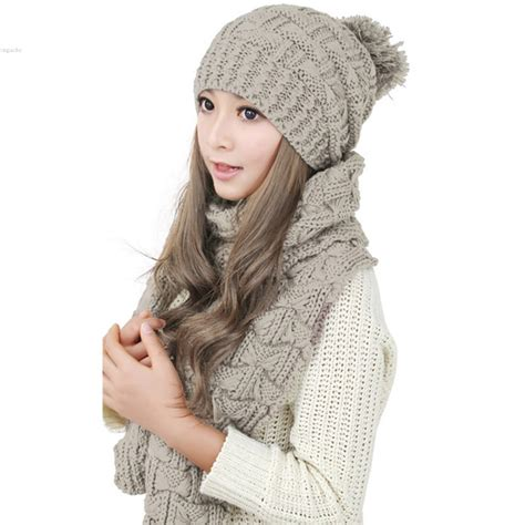 Luxe To Less Winter Hats Up 1 The Bag by Fashion Winter Hat Scarf Knit Crochet Beanies Cap