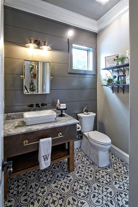 beautiful Half Bath Decor Ideas #3: farmhouse-half-bath.jpg