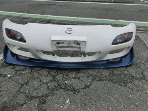 mazda rx7 front bumper mazda rx7 oem 99 spec front bumper and odula lip