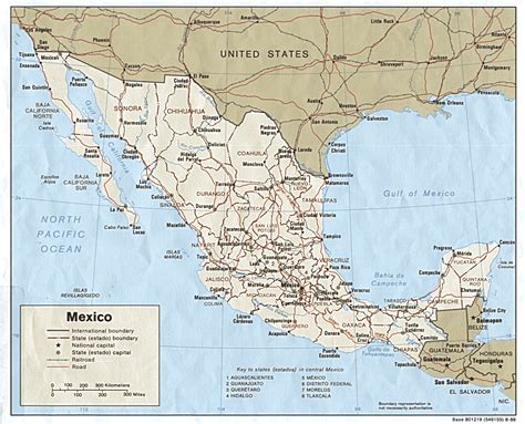 map of texas mexico border mexico maps perry casta 241 eda map collection ut library