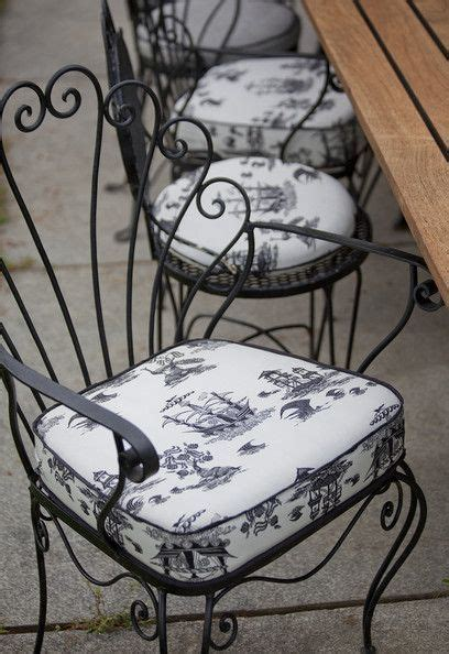 Wrought Iron Chair Cushions Outdoor by 15 Best Ideas About Wrought Iron Chairs On