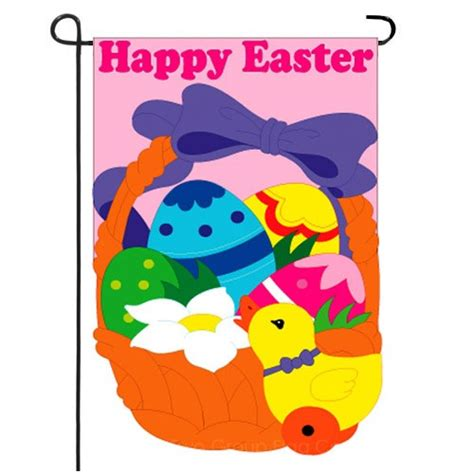 easter garden flag happy easter garden flag easter garden flags holiday