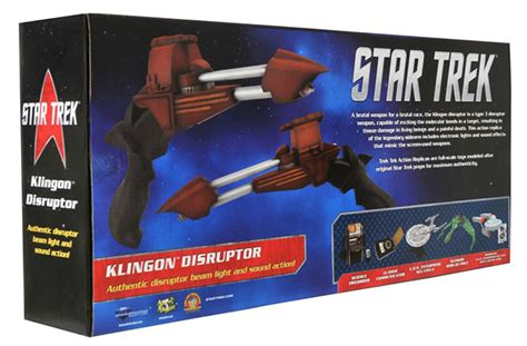 figure xpress afx dst s klingon disruptor variant raving maniac