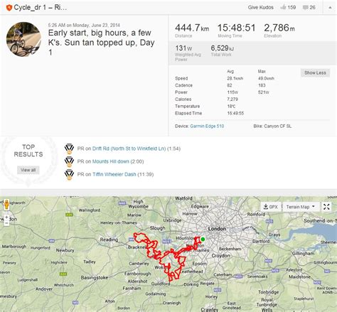 uk celebrities on strava surrey cyclist starts seven day distance world recor