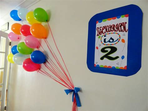 make wall decorations at home 2nd birthday balloon bash project nursery