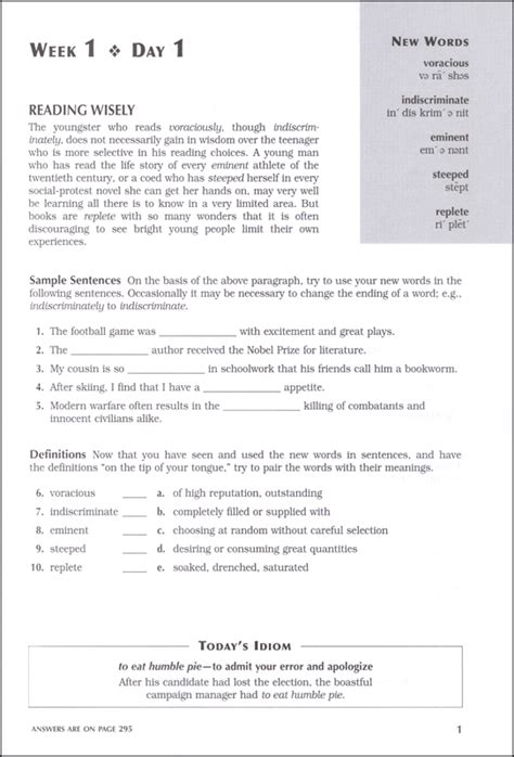 Barron S 1100 Words You Need To 1100 words you need to 6ed 044316 details rainbow resource center inc